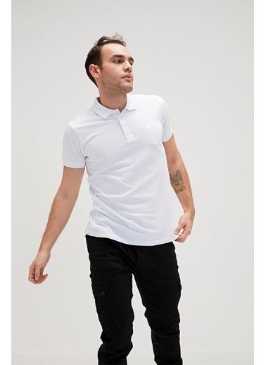 Bad Bear Erkek Polo Tişört Basic Pique 180107002-Wht Beyaz
